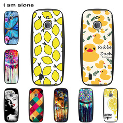 Mobile Phone Case For Nokia 3310 3G 4G 2.4 DIY Customized Cover Soft TPU Silicon Handset Housing Cellphone Color paint Bag Shell