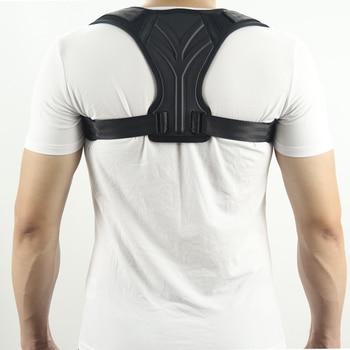 Spine Corset Support Posture Corrector Back Brace Adjustable Posture Brace for Upper Back Shoulder Back Pain Relief Trainer