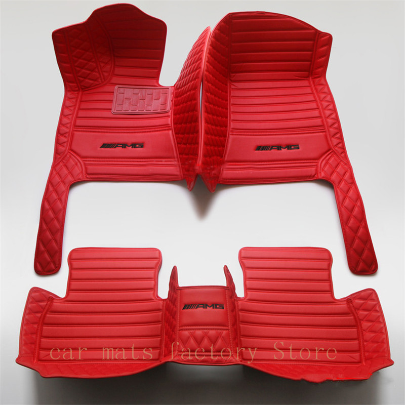 Foot-Mats W211car-Accessories E43 E350 W213 E220 W212 E200 E500 E63 Auto W210 Mercedes-Benz title=