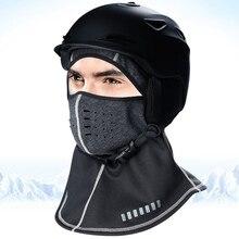 Practical Breathable Thermal Fleece Face Cover Balaclava Motorcycle Mask Winter Outdoor Ski Cycling Ninja