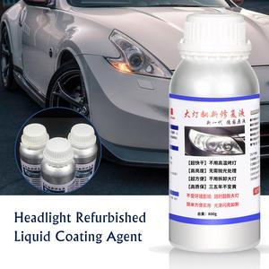 Image 4 - Kit de reparação de farol 800ml, farol de carro renovado, agente de revestimento líquido, ferramenta de reparo de farol de carro, manutenção de carros