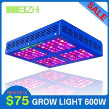 MEIZHI Reflector 450W LED Grow Light Full Spectrum Veg Bloom Hydroponics Indoor