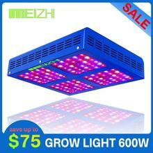 MEIZHI Reflector 450W LED Grow Light Full Spectrum Veg Bloom Hydroponics Indoor