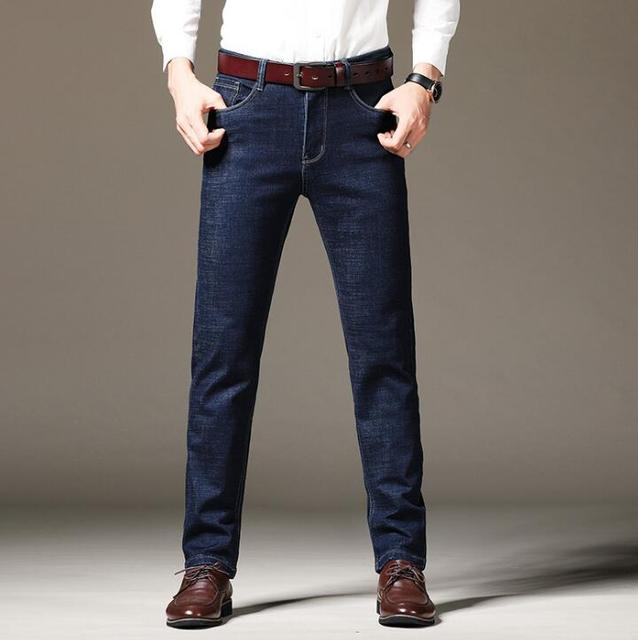 2020 New Design Top Quality Business Jeans For Men Stretch Long Pants On Hot Sales