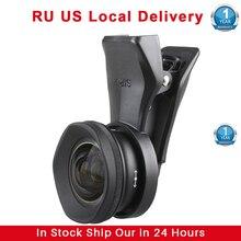 Sirui 18MM 60MM grand Angle 10X Macro lentille de téléphone Fisheye téléobjectif Portrait caméra lentilles de téléphone pour iPhone 11 Pro Max 8 7 Huawei