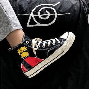 Image 3 - Diwaniya 2019 Mannen Skateboard Schoenen Herfst Hip Hop Canvas Sneakers Heren Lace up Athletic Sport Schoenen Zapatillas Hombre Deportiva
