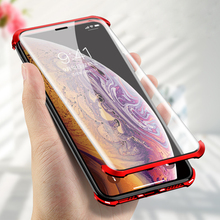 Luxury Magnetic Case For iPhone X XS Max XR 7 8 10 Plus s Fr