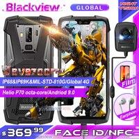 2019 Blackview BV9700 Pro IP68/IP69K прочный мобильный телефон Helio P70 Восьмиядерный 6 ГБ + 128 Гб 5,84