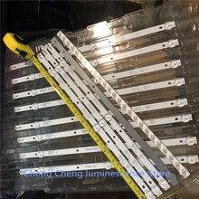 8 pièces/lot POUR K430WDC1 A1 4708 K43WDC A1113N11 43BDL4012 barre de LED 3LED 39CM 6V 100% NOUVEAU 4 commandes