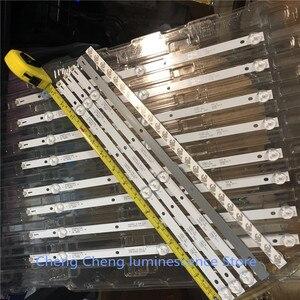 Image 1 - 8 pièces/lot POUR K430WDC1 A1 4708 K43WDC A1113N11 43BDL4012 barre de LED 3LED 39CM 6V 100% NOUVEAU 4 commandes