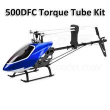 GARTT 500DFC Flybarless Torque Tubo 6CH 3D Kit per align trex 500 Elicottero