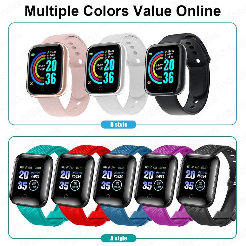 Smart Watch Android Men Women Smartwatch 2020 Heart Rate Monitor Fitness Tracker Sport Watch Smart Bracelet for iPhone Xiaomi 5