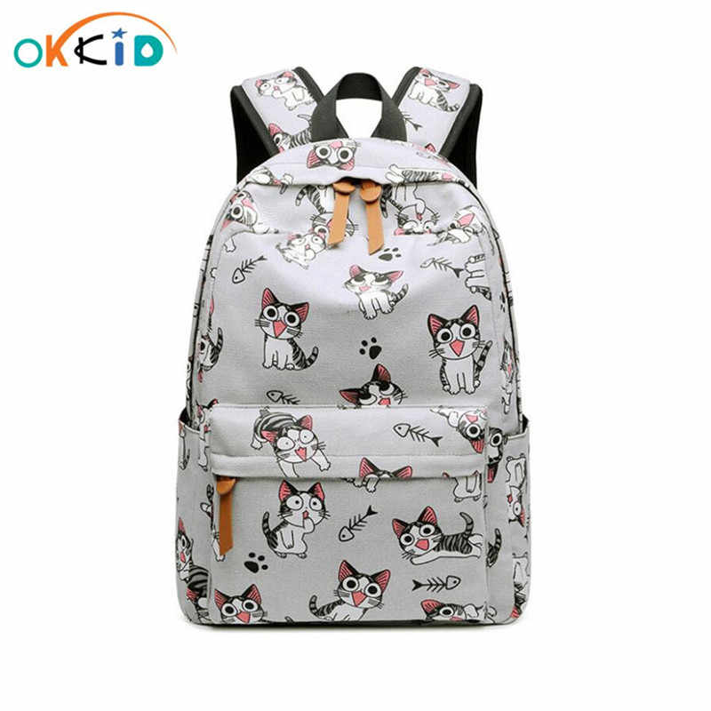 school bags for girls bagpack backpacks for children mochila student school backpack kids cat bag girl schoolbag dropshipping