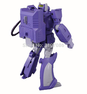 Image 3 - G1 Shockwave MasterPiece With Light Transformation MP 29 KO Collection Action Figure Robot Toys