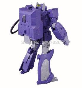 Image 3 - G1 Shockwave Meesterwerk Met Licht Transformatie MP 29 Ko Collection Action Figure Robot Speelgoed
