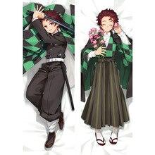 Wholesale Demon Slayer Kimetsu no Yaiba Anime Body Dakimakura BL Pillow Case Bedding Cover 2 Sides