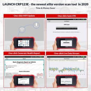 Image 3 - השקת X431 CRP123E OBD2 קוד קורא סורק ENG ABS כרית אוויר SRS שידור רכב כלי אבחון עדכון חינם CRP123 crp123x