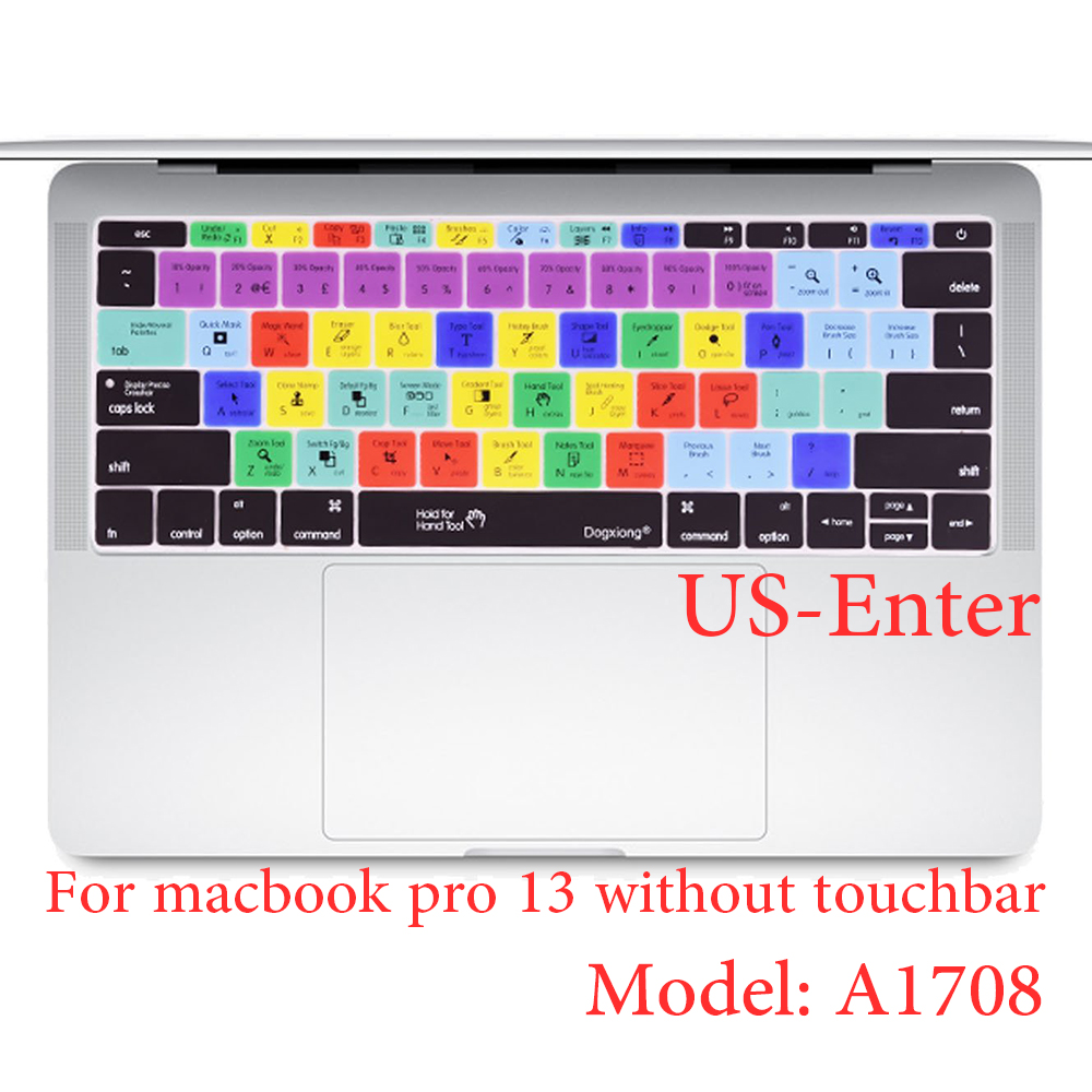 Dogxiong Avid Pro Tools Shortcut Silicone Keyboard Cover Skin for MacBook...