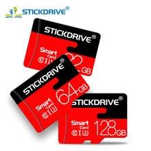 Cartão 128gb do tf da classe 10 do cartão do microsd para a câmera do telefone cartão de alta velocidade do micro sd 64gb 8gb 16gb 32gb cartão de memória
