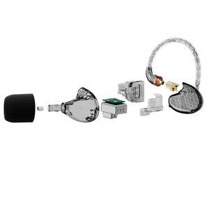 Image 5 - AUDIOSENSE T260 PRO  Detachable MMCX 8Strands 19Core SCX  Wire  2 Knowles Balanced Armature Monitor HiFi  Earphone