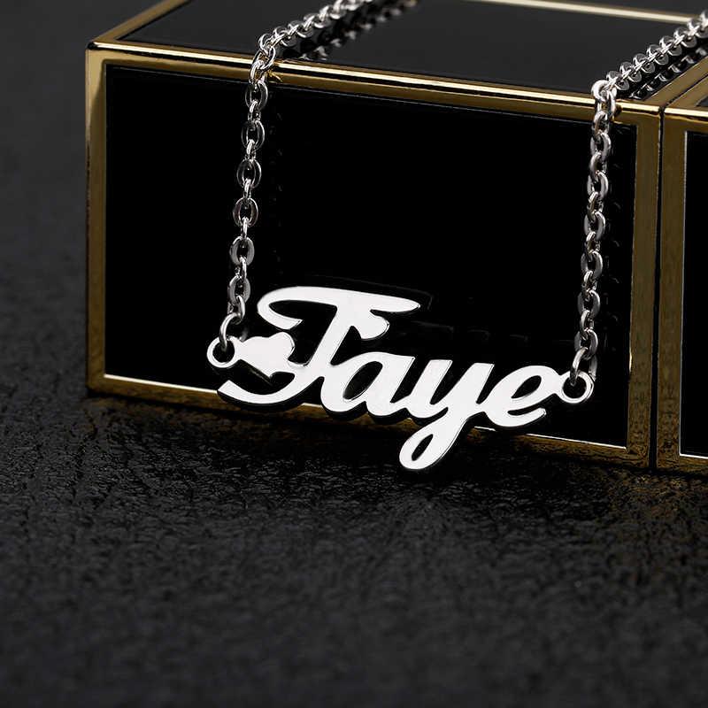 Spersonalizowana nazwa list niestandardowe bransoletki obrączki dla kobiet ze stali nierdzewnej złoty łańcuch bransoletki na nogę moda biżuteria Accesorios Mujer