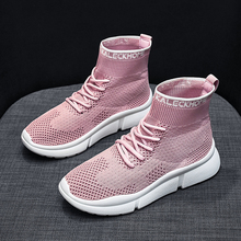 Women Running Shoes Breathable casual shoes women Sock shoes Outdoor Sports Jogging shoe Zapatillas Mujer цена
