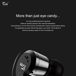 Image 4 - TRN V80 2BA + 2DD الهجين المعادن في الأذن سماعة HIFI DJ Monito تشغيل سماعة أذن تستخدم عند ممارسة الرياضة سدادة الأذن سماعة ل MT1 BA15 TA1 V90 KZ edx