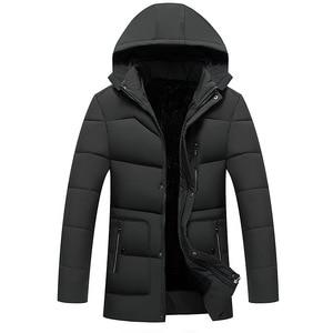 Image 3 - FAVOCENT Good Quality Men Jacket Super Warm Thick Mens Winter Parkas Long Coats with Hood for Leisure Men Parka Plus Size 5XL