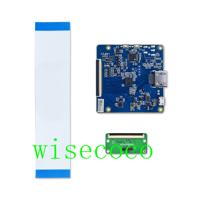 2.9 inch 1440*1440 2K IPS dual lcd screen display LCM with HDMI  driver board 70hz refresh rate
