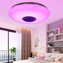 110-220V Modern RGB LED Ceiling Lights Home lighting 36W 80W APP Bluetooth Control Music Light Bedroom Lamps Smart Ceiling Lamp