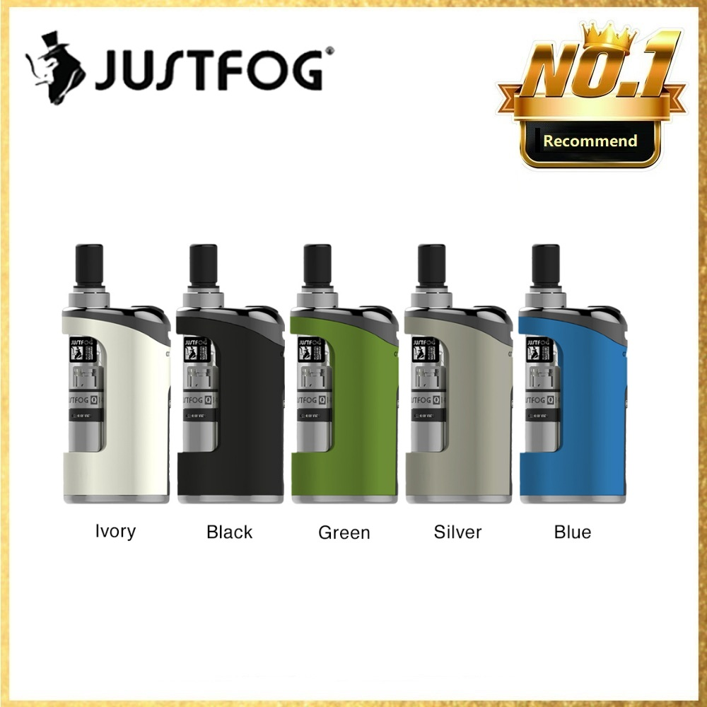 New JUSTFOG Compact 14 Kit With 1500mAh Battery & 1.8ml Q14 Atomizer & LED Battery Indicator Light Long Time Vaping Vs Minifit