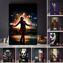 Джокер фильм 2019 в стиле «Джокер» Хоакин картина маслом на холсте Плакаты и принты Cuadros настенные картины для Гостиная