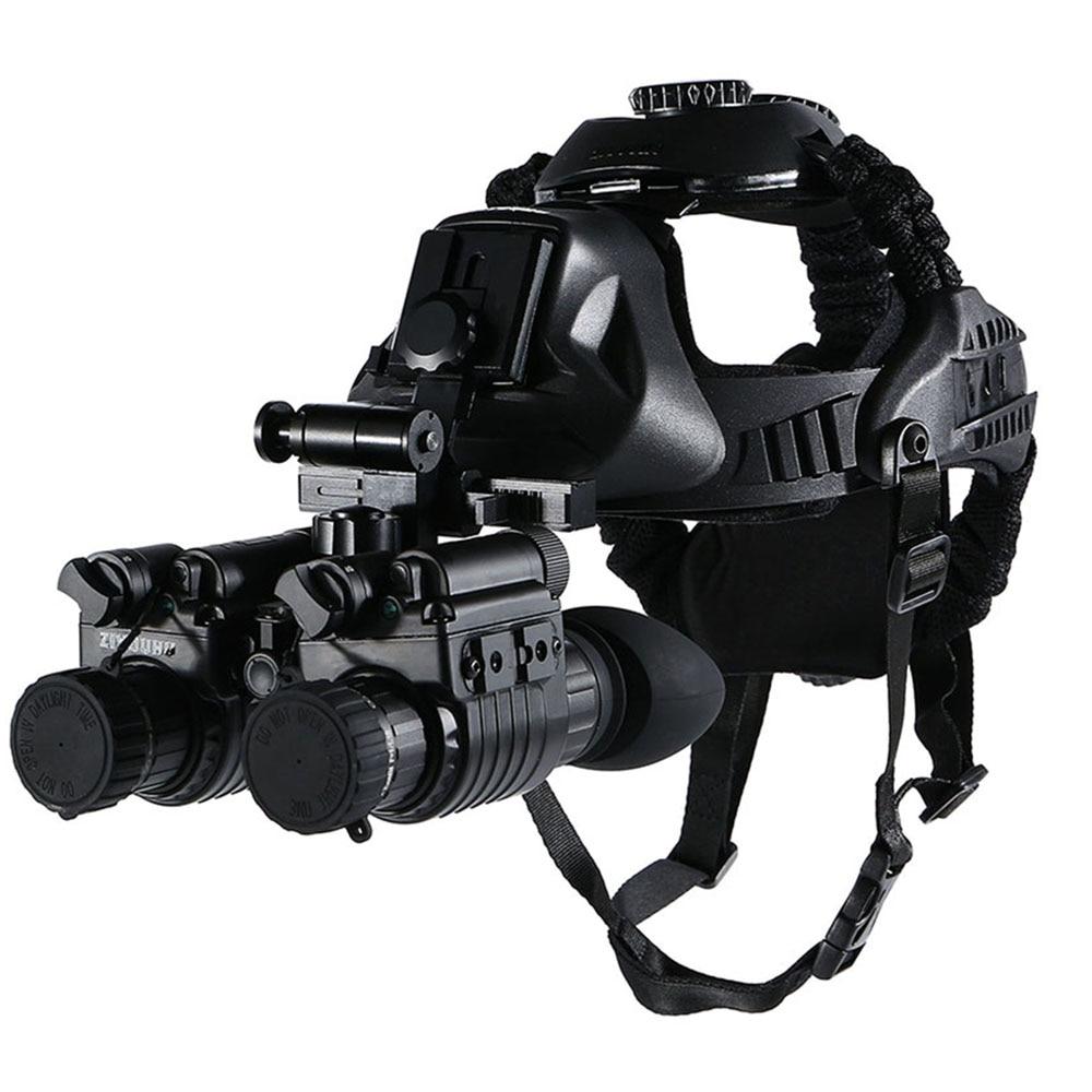 แว่นมองภาพกลางคืน กล้องมองภาพในที่มืดติดหัว IR Night Vision แว่นกลางคืน อินฟาเรตจับความร้อน เกรดใช้ในกองทัพทหาร ปฏิบัติการยุทธวิธีกลางคืน