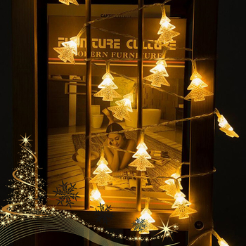 Choinka 10M magiczne łańcuchy świetlne led girlandy led kurtyny świetlne kryty dla domu Xmas Party ogród dekoracja świąteczna tanie i dobre opinie Ouktor christmas tree CN (pochodzenie) LED Fairy String Lights Koraliki for Home Xmas Party Garden Holiday Decoration Christmas Tree Lights