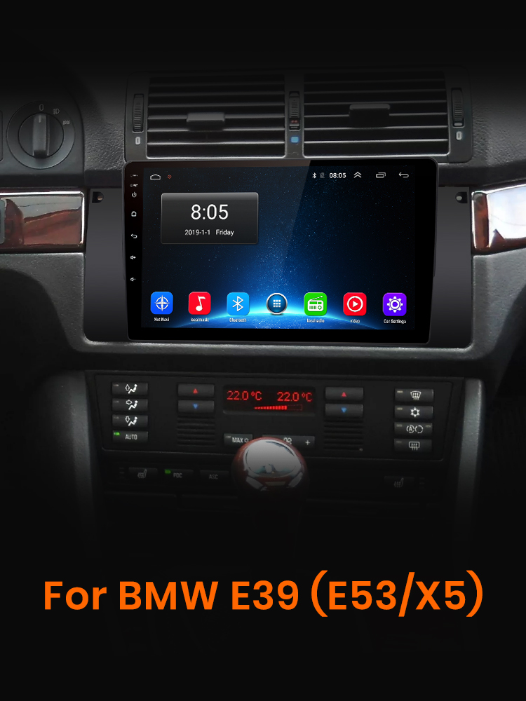 Video-Player Multimedia Car-Radio Awesafe Px9 Din Android E53 E39 2 BMW X5 for GPS No-2