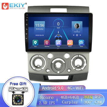 EKIY DSP Android 9.0 For Ford Everest Ranger & Mazda BT-50 BT50 2006-2010 Car Radio Multimedia Player GPS Navigation Stereo DVD image
