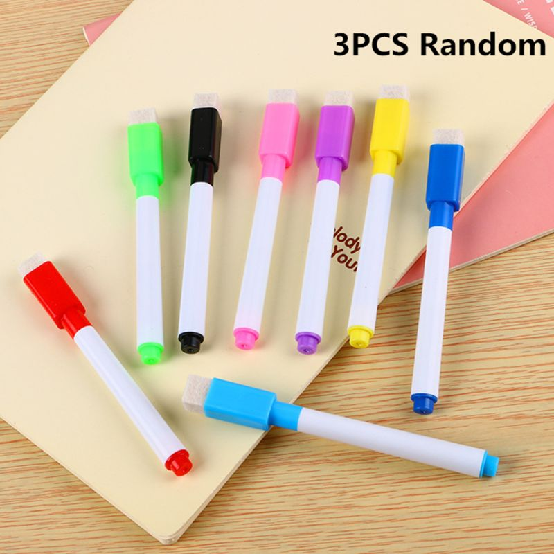 Transparent Dry Brush Bag Can Be Reused With PVC PET Writing Dry Wipe Bag Drawing Toy For Kids Children Adult