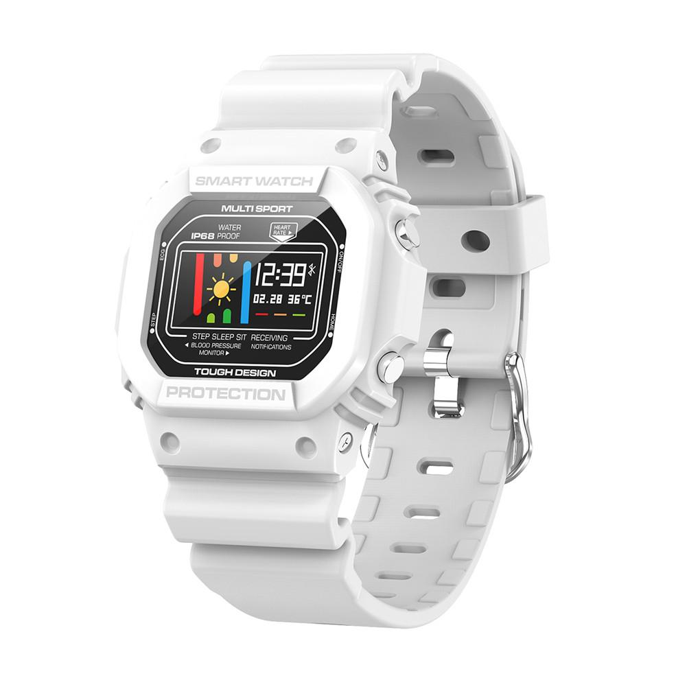 X12 ЭКГ+ PPG Спорт Здоровье Водонепроницаемый Bluetooth Смарт часы Пульс мониторинг сердечного ритма ЭКГ кровяное давление монитор сна Браслет - Цвет: White