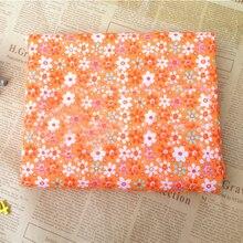 Cloth Fabric Cotton 7pcs/Set Crafts Square 25x25cm Patchwork Floral DIY