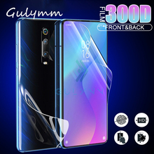300D Front + Back Full Cover Screen Protector For Xiaomi Mi 9T 9 SE A3 Lite Redmi Note 8 7 4X Pro Protection Soft Hydrogel Film