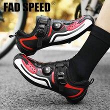 Новая велосипедная обувь для Для мужчин road сетевой фильтр
