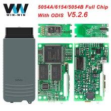 Yüksek kaliteli tam OKI Chip 5054A ODIS 5.2.6 5054A 6154 OBD2 WIFI Bluetooth tarayıcı OBD 2 OBD2 araç teşhis otomatik aracı sıcak satış