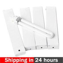 4 יח\סט 9W UV מנורת אור צינור עבור נייל אמנות מייבש אשפרה מנורת החלפת U בצורת מנורת הנורה צינור אספקת מכירה לוהטת
