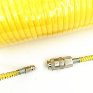 Image 4 - Mangueira compressora de ar telescópica, tubo pneumático de 7.5m, toll com estilo europeu, macho e feminino conector