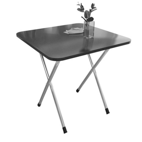 Small Table, Simple Home Folding, Small Table, Small Household Square Table Rental Room Portable, Portable And Fashionable