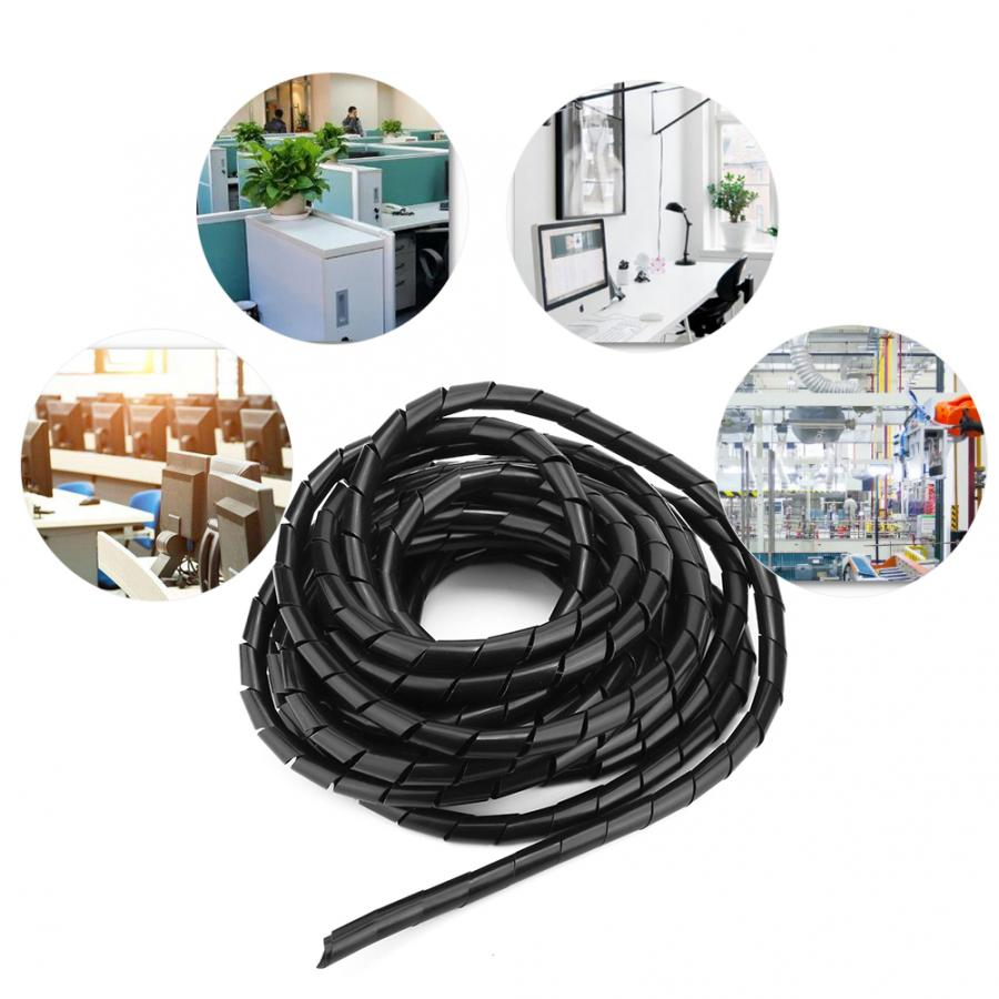 Heat Shrink Tubing 2:1 Ratio BLACK 9.5mm 1m per metre