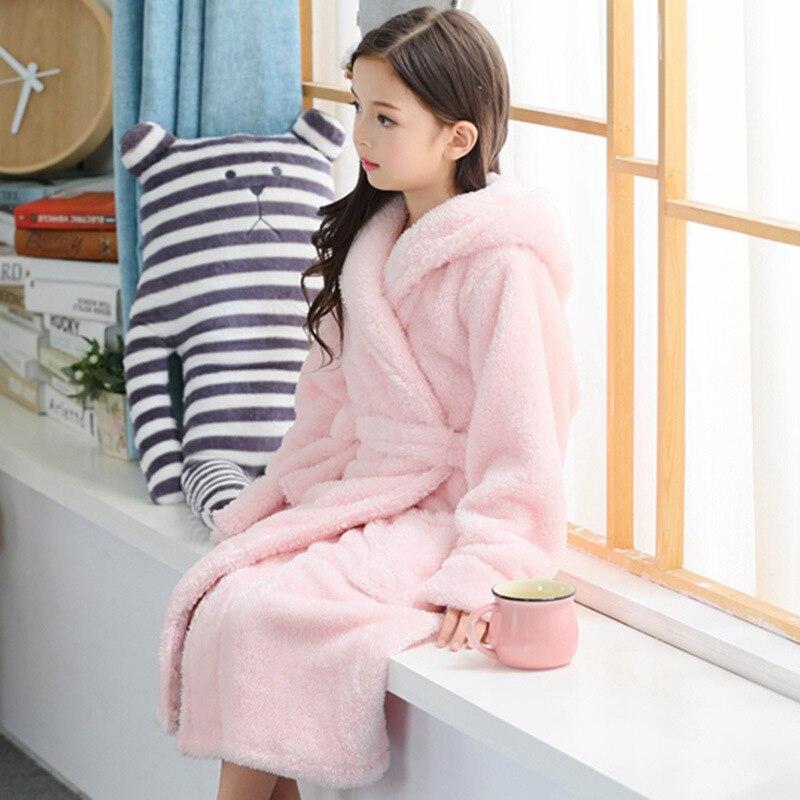 roupao de banho infantil para meninas 2 13y 01
