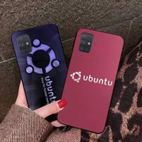 Hpchcjhm Linux Ubuntu Logo Nieuw Aangekomen Zwarte Mobiele Telefoon Geval Voor Samsung A10 A20 A30 A40 A50 A70 A80 A71 a91 A51 A6 A8 2018
