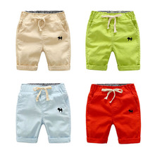 Factory sales 2020 boys girls casual shorts summer five poin