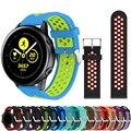 Силиконовые Ремешки для наручных часов для Samsung Galaxy Watch активный умный сменный Браслет резиновый ремешок 20 мм ремешок Шестерня S2/спортивный ...